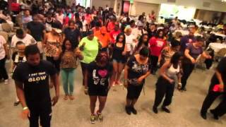 STL Caffeine Soul Line Dance | Baltimore Line Dance Brunch 6/30/13