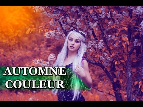 Photoshop Tutorials | Effect Autumn | (Automne Couleur)