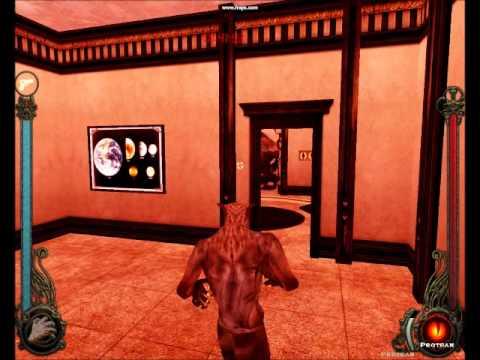Gangrel Vs Werewolf {Bloodlines} - YouTube