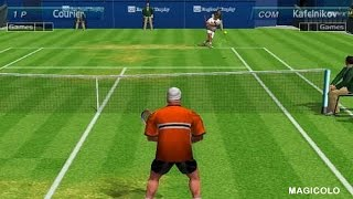 Virtua Tennis 1 gameplay - Power Smash 1999 made by SEGA
