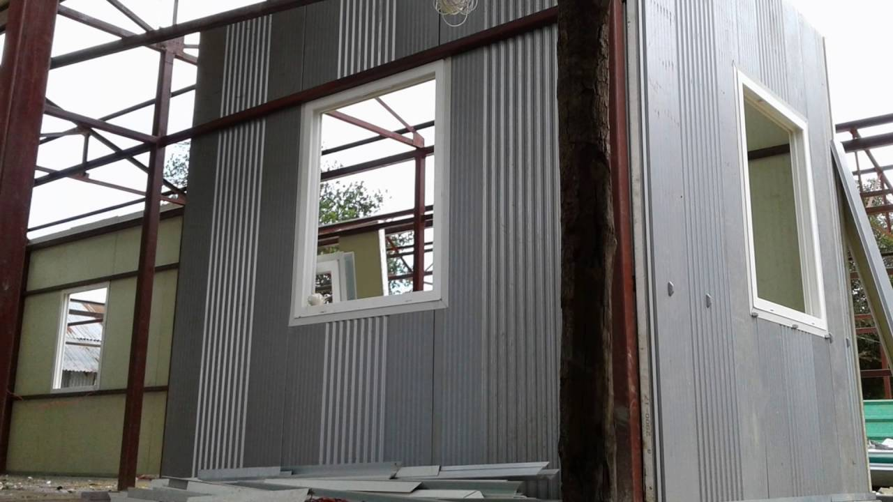 Sandwich panels and how to work with them