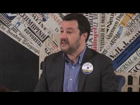 """Salvini quiere cambiar la UE y advierte de que el euro """"no es un un dogma"""""""
