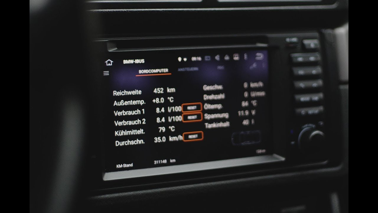 I-BUS App | The best app for your Android head unit