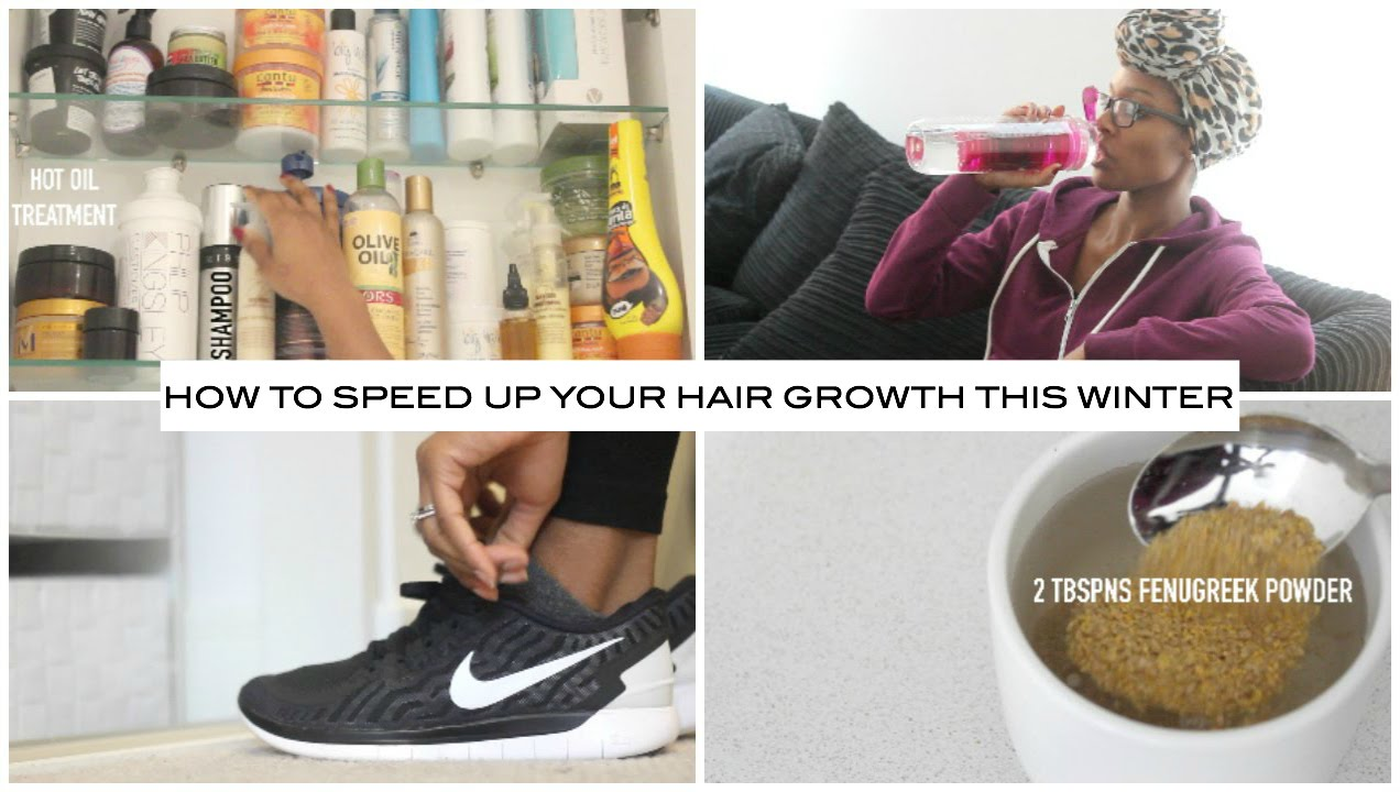 How can you speed up hair growth?