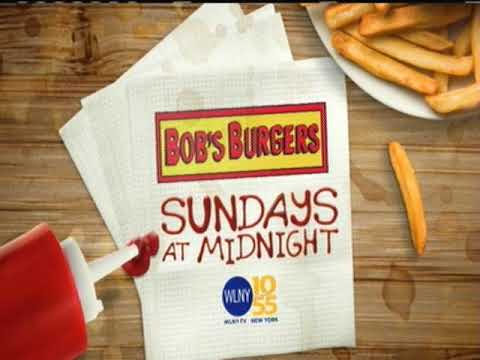 Bobs Burgers on WLNY midnight promo WLNY 10/55 bumper Family Guy Promo for Family Goy