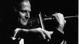 Menuhin plays Paganini Violin Concerto No. 1 in D major, Op. 6, MS 21 - Part 2/4