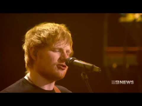 Ed Sheeran in Perth | 9 News Perth