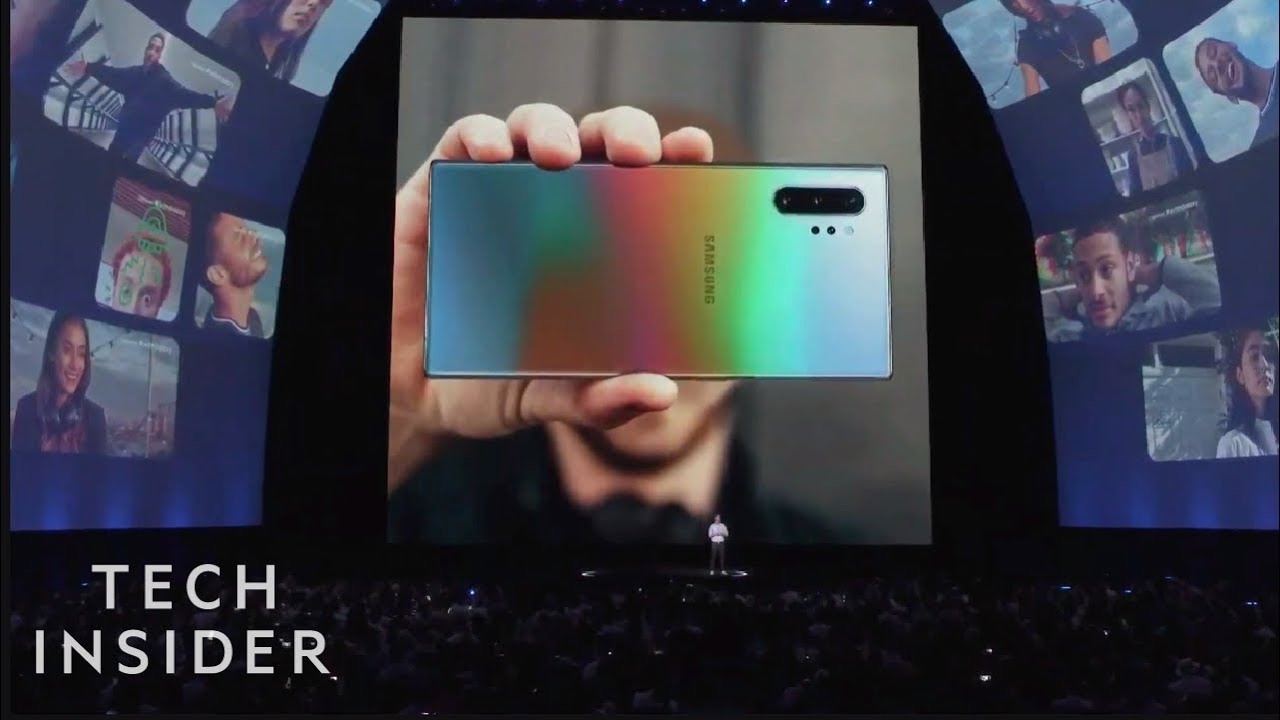 Samsung Galaxy Note 10 Event In 6 Minutes