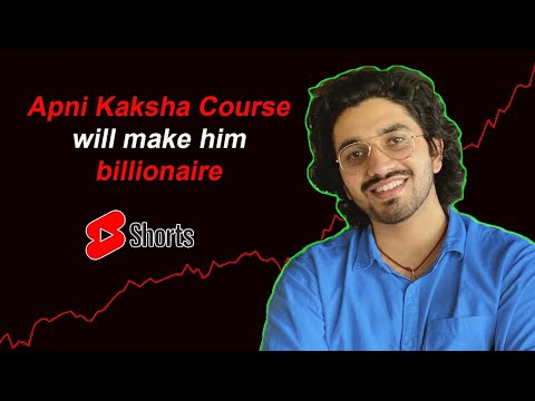 Apni Kaksha Course can make Aman Dhattarwal billionaire #shorts