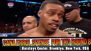 El campeón welter Errol Spence Jr derrotó a Lamont Peterson por tko...