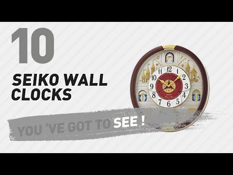 Seiko Wall Clocks // New & Popular 2017