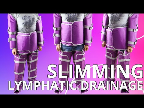 How To Use MYCHWAY Lymph Drainage Air Pressure Compression Slimming Beauty Machine JMLB1218