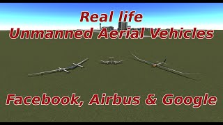 KSP 1.0.4: UAVs: Google vs Facebook vs Airbus; Who has the best drone?