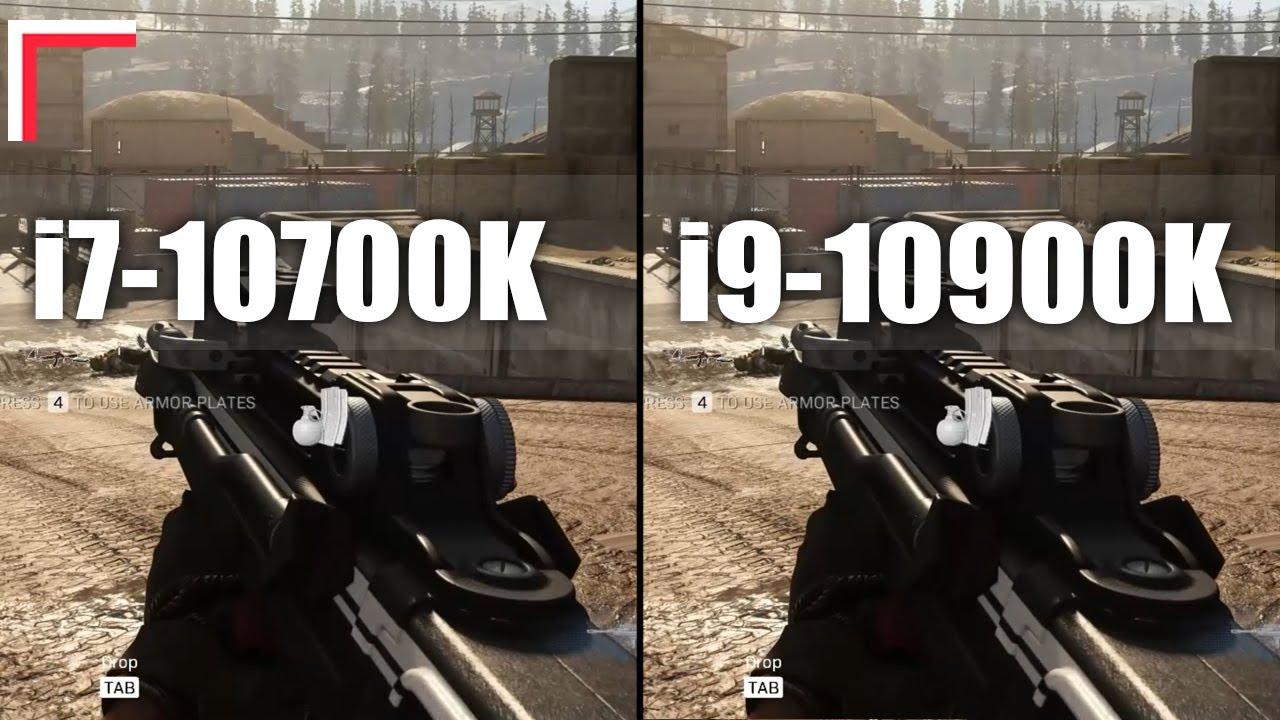 Intel Core i7 10700K vs Intel Core i9 10900K — Test in 10 Games! [1080p, 1440p, 4K]