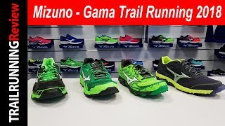 Mizuno - Gama Trail Running 2018