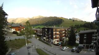 Little time lapse  in la Clusaz. Haute Savoie