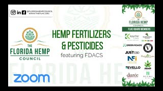Hemp Fertilizers & Pesticides ft. FDACS