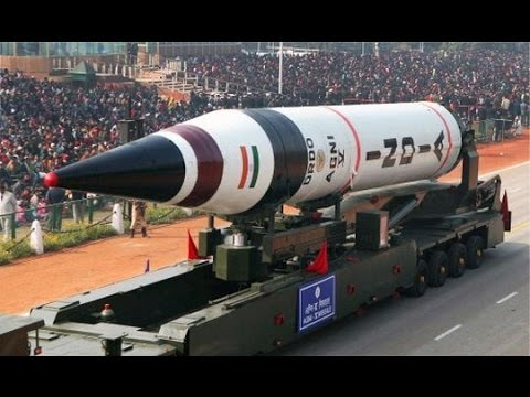Indian Nuclear Missile Range