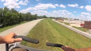 Dixie Chopper - Dixie Chopper races Scag