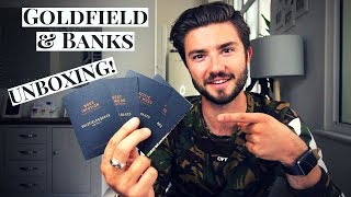 Goldfield & Banks Unboxing Review