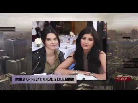 Kylie and Kendall Jenner | Donkey Of The Day