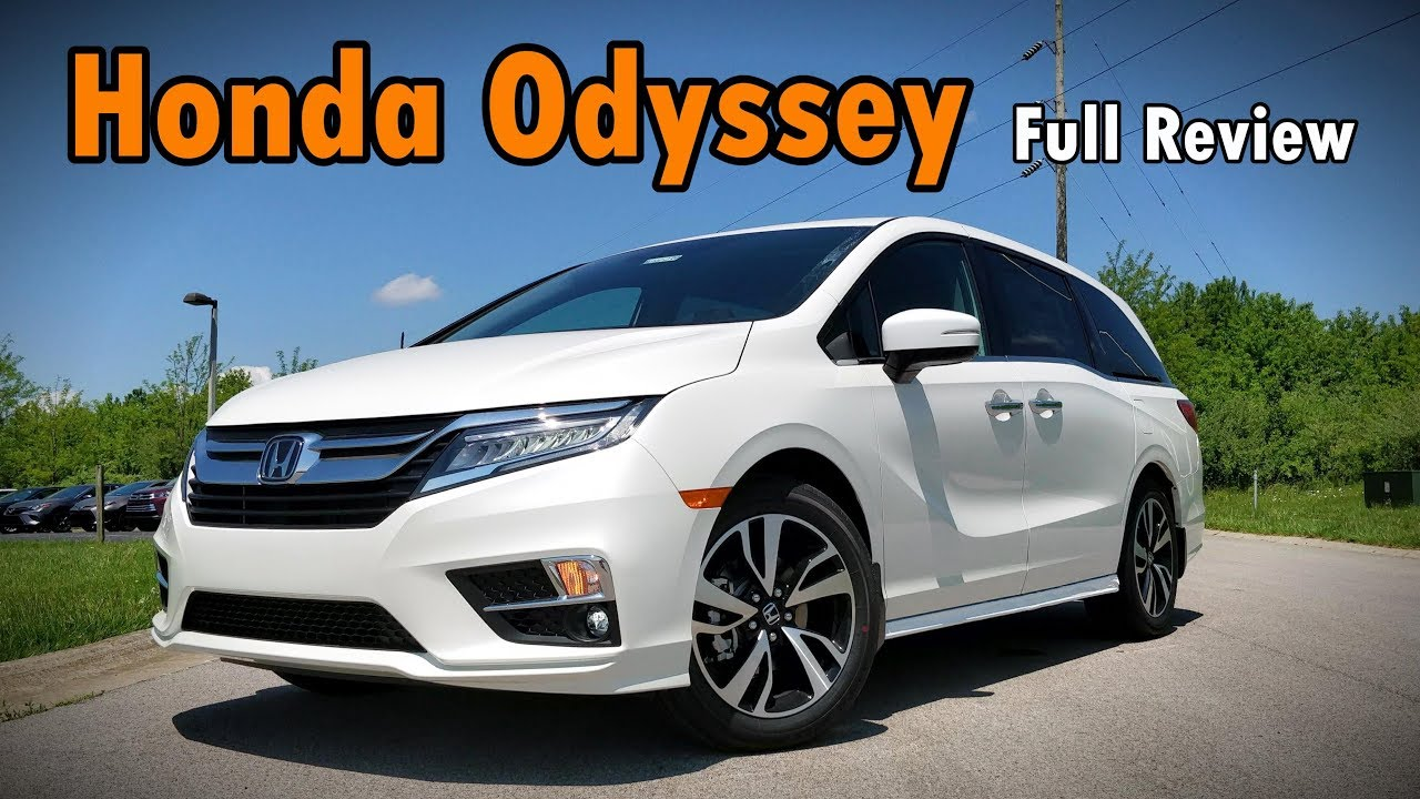 Superior 2019 Honda Odyssey: FULL REVIEW | Elite, Touring, EX L, EX U0026 LX