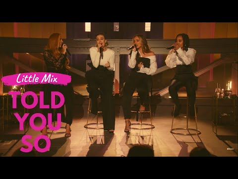Little Mix - Told You So (Official FM Video)