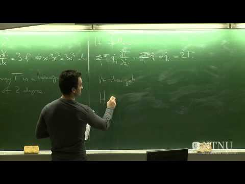 11: Hamiltonian formalism - Part 1