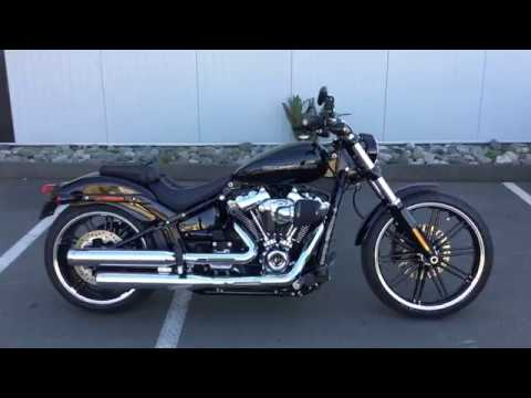 2018 harley davidson fxbrs breakout 114 custom youtube. Black Bedroom Furniture Sets. Home Design Ideas
