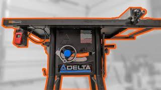 Delta 36-725T2 Unbox/Review/Demo