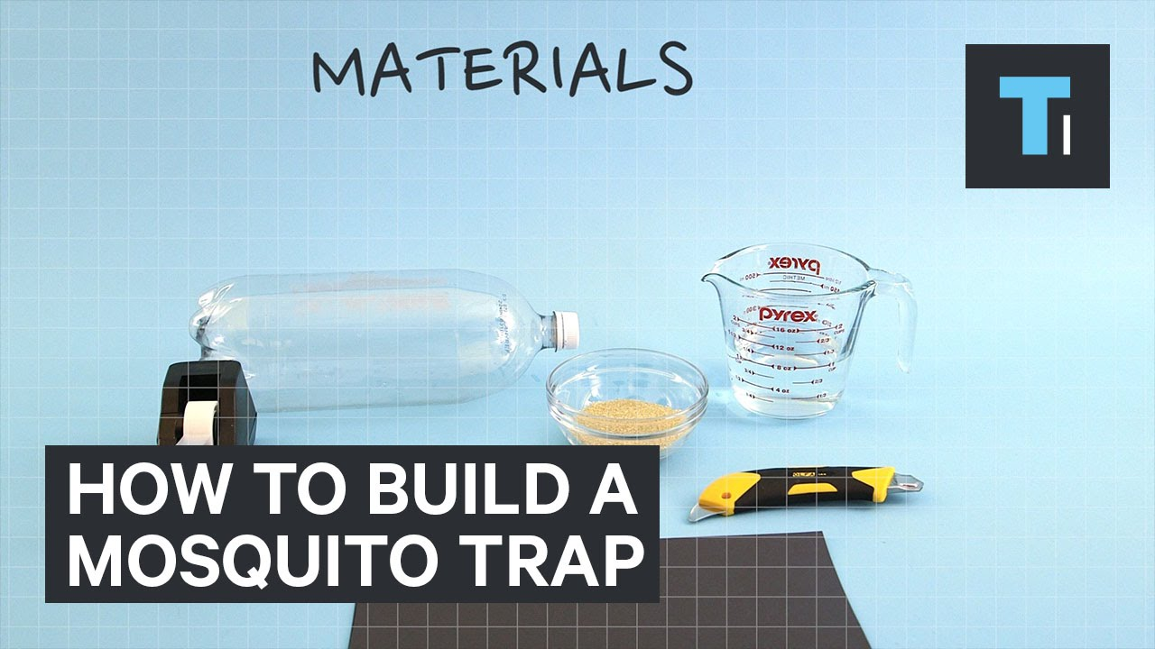 how to build a mosquito trap