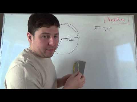 Как вычислить площадь и периметр круга