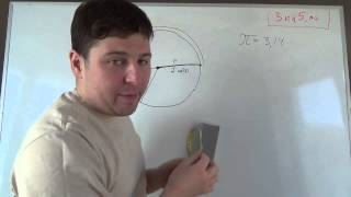 Площадь круга. Математика 6 класс.