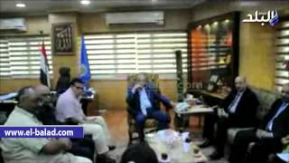 بالفيديو والصور.. محافظ أسوان يلتقي وفد الهيئة العامة لقصور الثقافة
