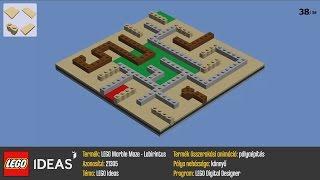 LEGO 21305 - LEGO Maze pályaépítés - Nehézség: könnyű