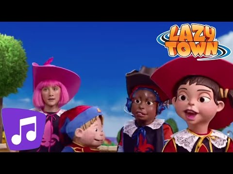Lazy Town | I Am A Prince Music Video