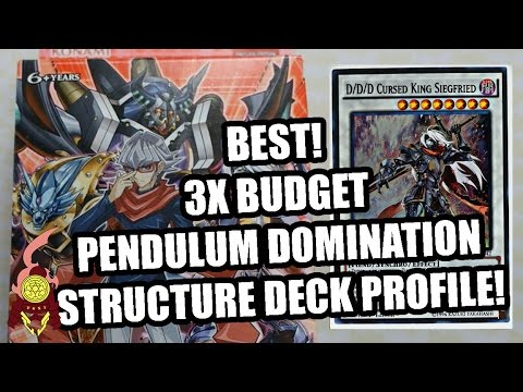 3X PENDULUM DOMINATION STRUCTURE DECK PROFILE! SUPER BUDGET DDD FOR ONLY  $30! 2017   YouTube