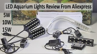 LED Aquarium LIGHTS Review - From Aliexpress