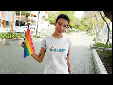 Hem och kontor AB stödjer pride-rörelsen