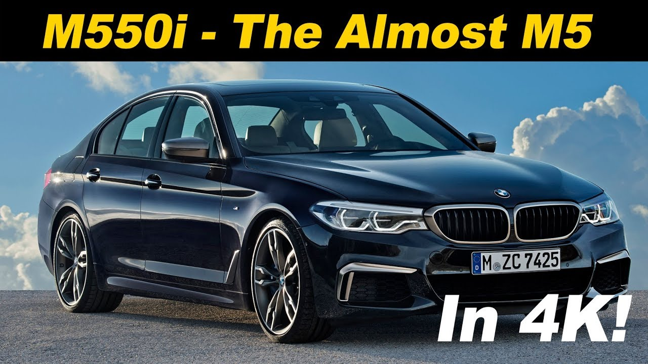 2018 Bmw M550i Xdrive First Drive Review In 4k Uhd