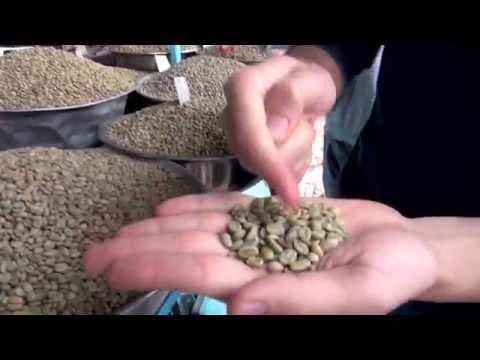 Ethiopian coffee beans at Merkato Market ( Ethiopia) thumbnail