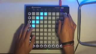 Launchpad pro: Retovision-Puzzle (by Yhugo Slave)