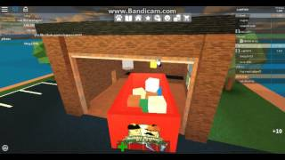 Roblox - Work at a Pizza Place - IM A HARD WORKER!!!