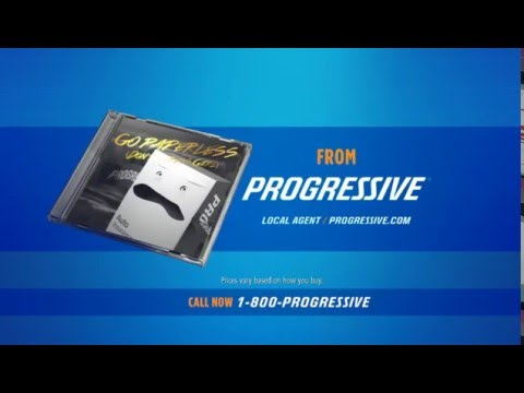 Progressive Insurance Box Drops Single Go Paperless [Don't Stress Gurl] For Mixtape Commercial