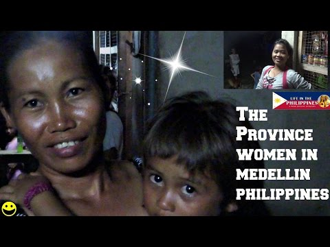 THE PROVINCE WOMEN IN MEDELLIN PHILIPPINES