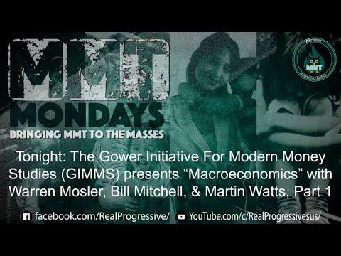 #MMTMondays - Microeconomics with Warren Mosler, Bill Mitchell & Martin Watts Part 1