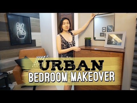 Urban Industrial Guest Room Makeover // by Elle Uy