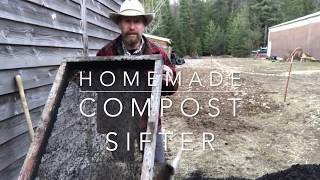 How to Build Your Own compost Sifter aka Soil Sieve...and why.