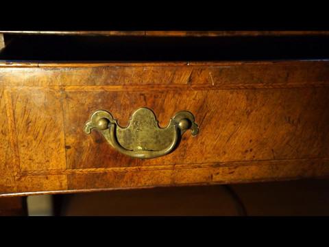 Antique Furniture English Lowboy Circa 1745.