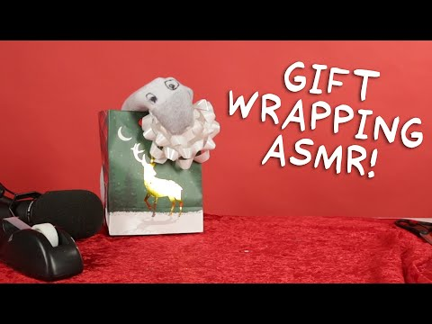 Gift Wrapping ASMR | Puppet ASMR with Todd Socket